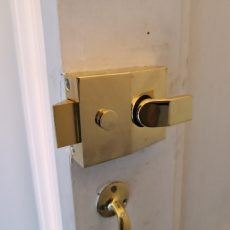 Gold Nightlatch Locks