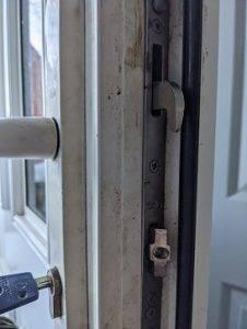 Replaced Yale Gearbox on upvc door in Gorebridge