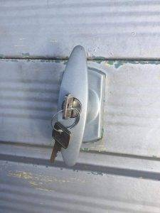 Henderson Garage t bar lock