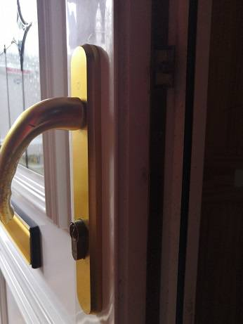 upvc door lock floppy handles